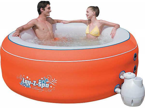 BestWay 54101 Надувной бассейн аэромассажный, 206*72 см