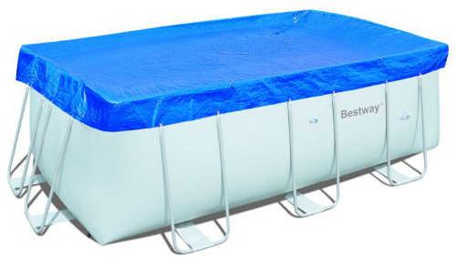 BestWay 58232 Тент для бассейна, 369*171 см