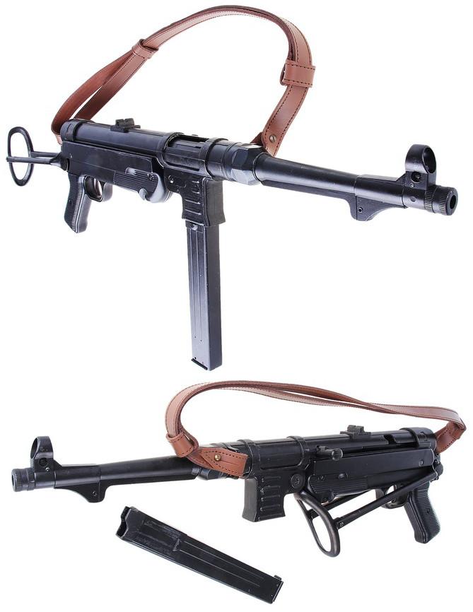 Denix Макет пистолета-пулемета Фольмер, 9 мм,