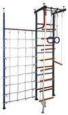 Вертикаль (ГранВиС) ДСК Вертикаль-1.1+, Г-образный с дополнительной стойкой и канатной сеткой, широкие перекладины (высота потолка от 2,5 до 2,95 метров)