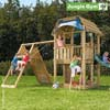 Jungle Gym Детский игровой комплекс Jungle Barn + Climb Module Xtra