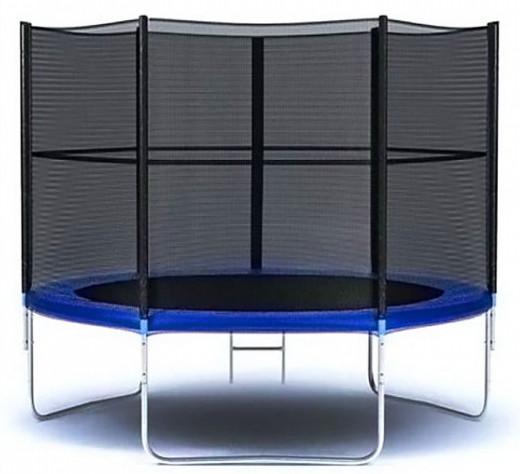 Moove&Fun Батут с защитной сеткой и лестницей 6 футов (183 см), MFT-6FT-3