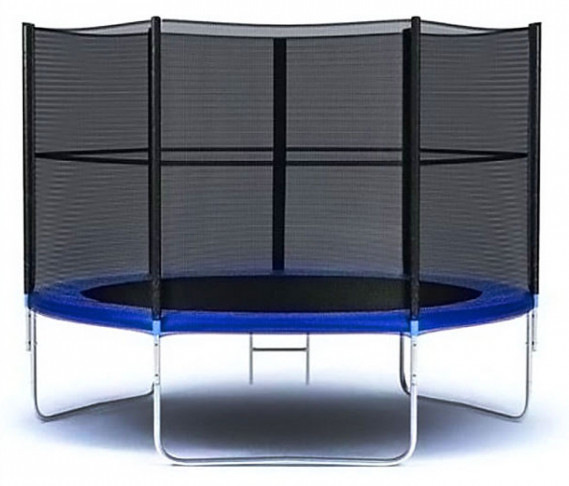 Moove&Fun Батут с защитной сеткой и лестницей 8 футов (244 см), MFT-8FT-3