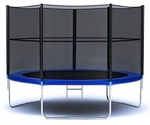 Moove&Fun Батут с защитной сеткой и лестницей 10 футов (305 см), MFT-10FT-3