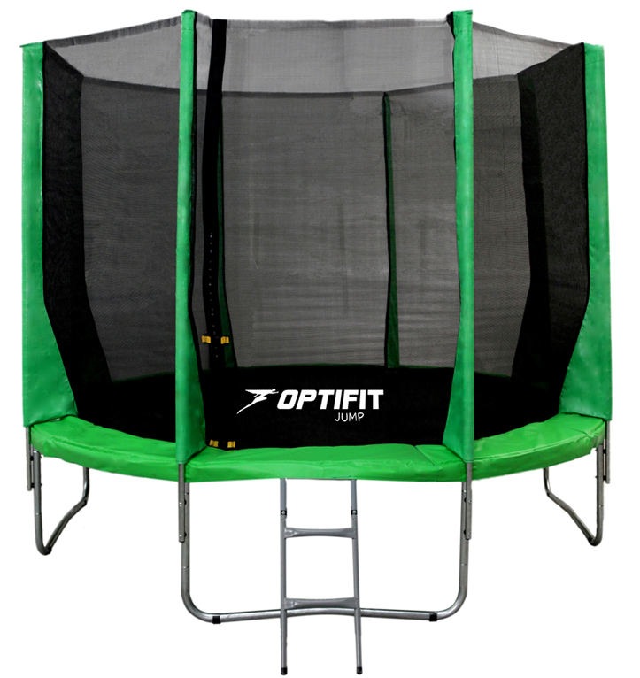 OptiFit Батут Jump 16 футов (4,88 м), зеленый