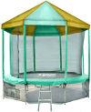 OptiFit Батут Like Green 10 футов (3,05 метра) с крышей