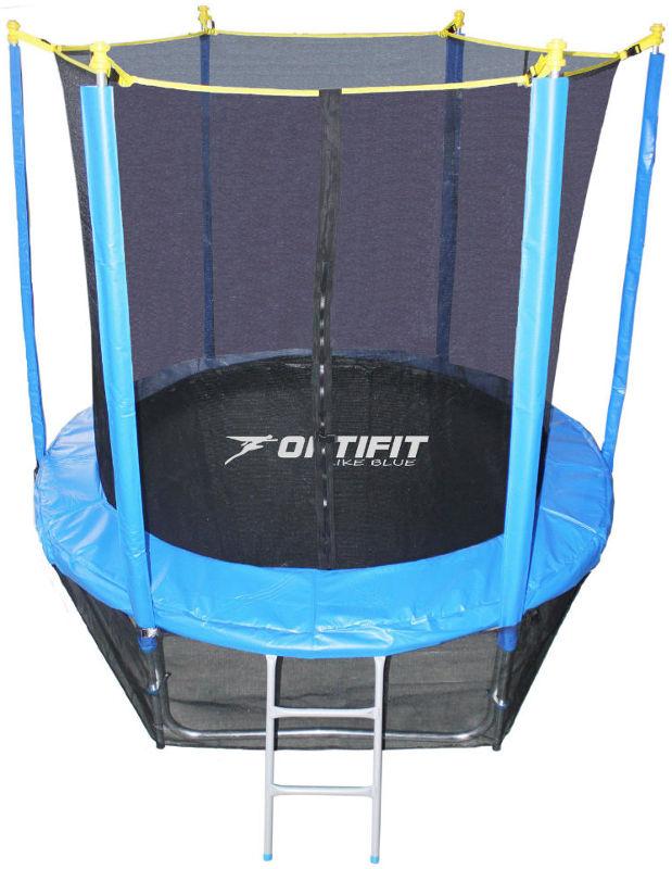 OptiFit Батут Like Blue 8 футов (2,44 метра), синий