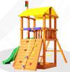 Самсон Детский игровой деревянный комплекс для улицы Мадагаскар