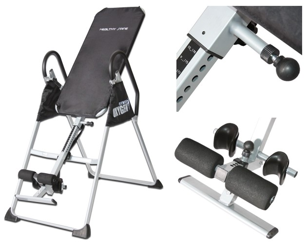 Oxygen Fitness Инверсионный стол Healthy Spine