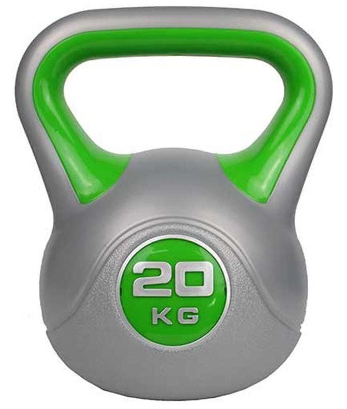 ZS-Sports Гиря 20 кг с пластиковым покрытием, ZS-20